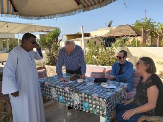 Rosemarie, Jean-Pierre, Jean-Marie, et Mohamed