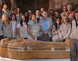 la mission archéologique égypto-espagnole de l'Institut Madrilène d'études sur l'Egypte ancienne