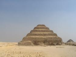 complexe funéraire de Djoser - Pyramide de Saqqarah.