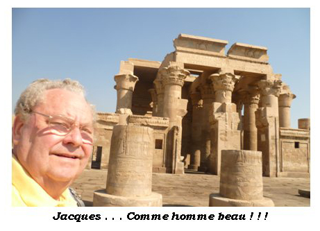Jacques à Kom Ombo