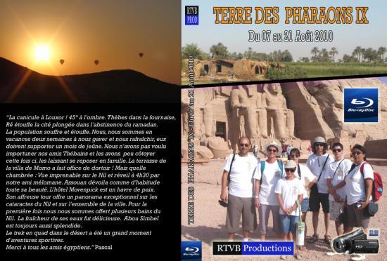Terre des Pharaons IX