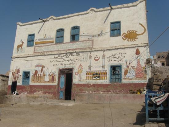 La nouvelle maison blanche, propriété des Abd el Rassoul.