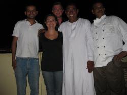Ali, Stéphanie, Christophe,Mohamed et Chazli.