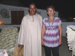 Martine et Mohamed le cuisinier de KV2