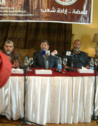 Mohamed Morsi à Louxor