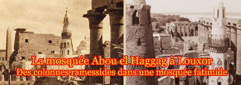 La mosquée Abou el Haggag à Louxor