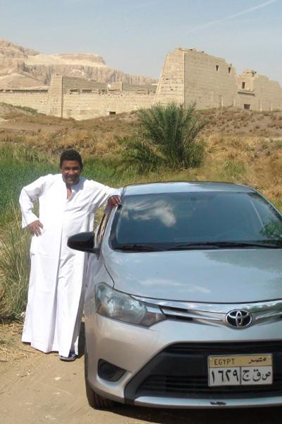 Mohamed et son taxi
