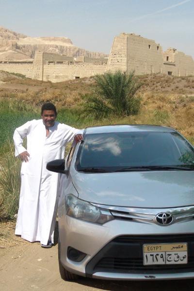 Mohamed et son taxi