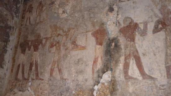 Départ du Pharaon en palanquin (tombe d'Ouseramon)