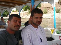 Un felouquier et Ali