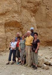Le groupe dans la vallée des singes