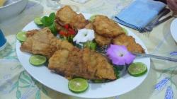 Les bon petites plats sur la terrasse de KV1