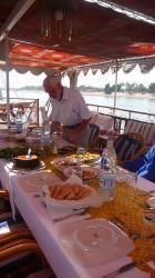 Les repas sur le pont