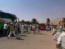 Colosses de Memnon - Novembre 2012