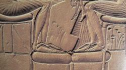 Sandales d'Akhenaton et Nefertiti.