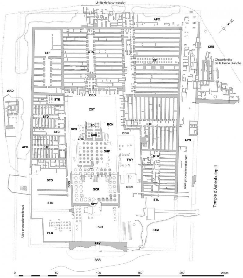Plan Ramesseum