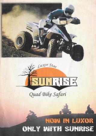 Luxor Star Sunrise Quad Bike Safari