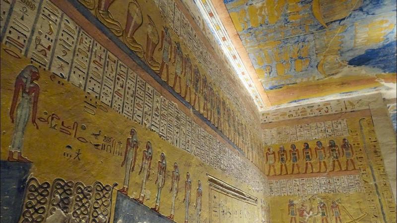Tombe de Ramsès IV