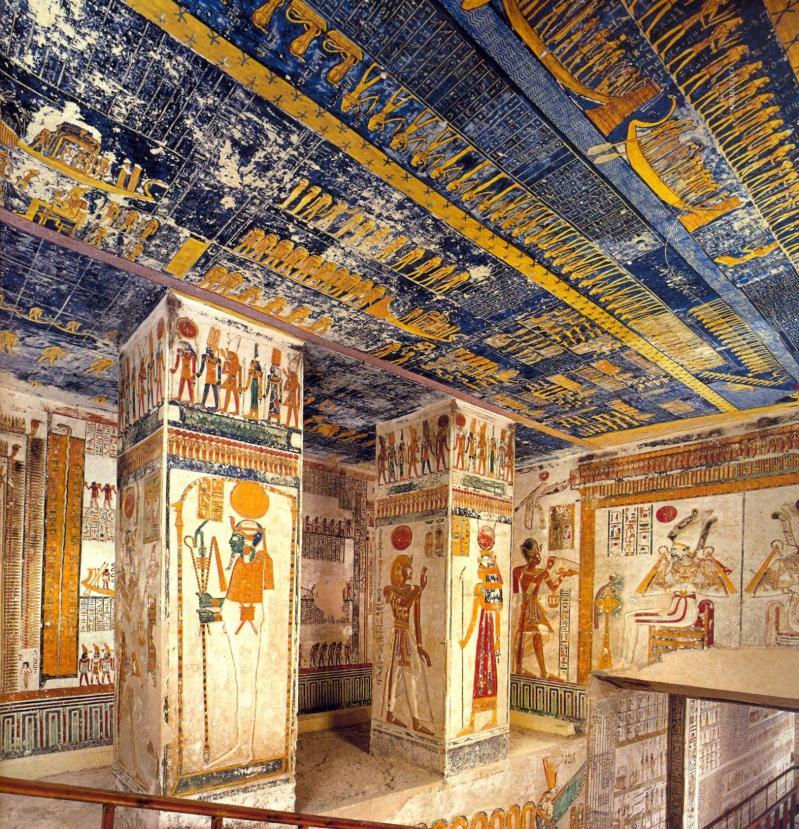 KV2 - Tombe de Ramsès IV