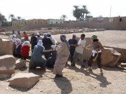 Secteur DBS devant STO - Ramesseum
