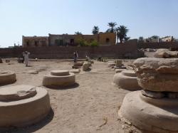 Secteur PLR - Au loin C.Leblanc - Ramesseum