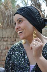 Shaata, fille du second mariage d'Hussein avec Shaouguia