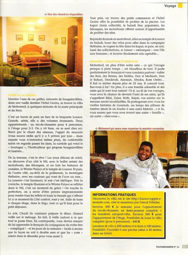 Toutankhamon magazine