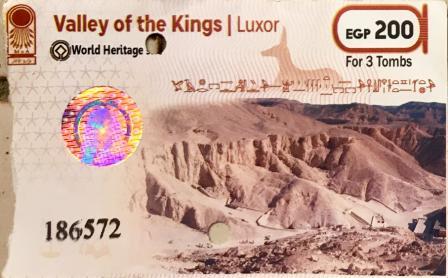 Valle des rois