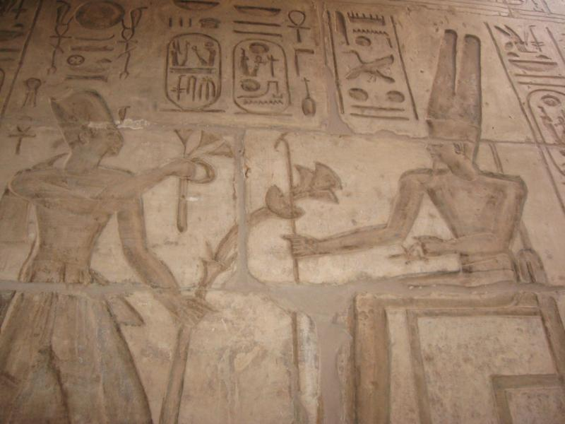 Séthi et Amon