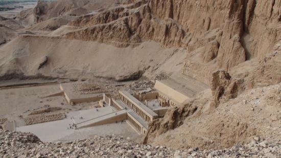 Le temple d'Atchepsout du site de Deir el Bahari