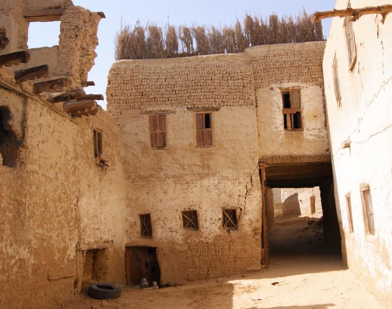 Ville ottomane médiévale El-Qasr.