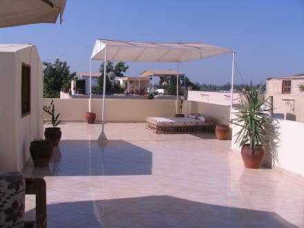 La belle terrasse de Kv1.