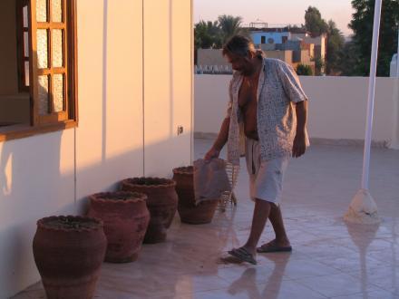 Pounet le jardinier de Louxor